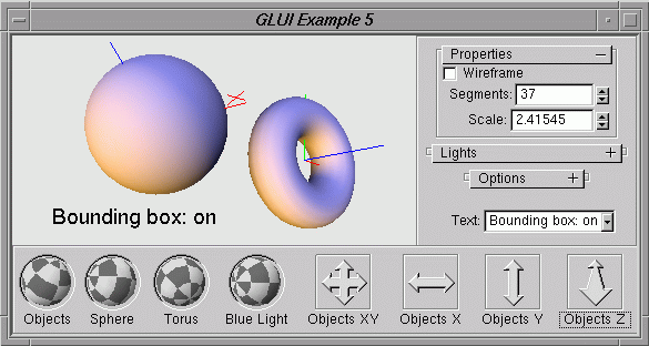 GLUI User Interface Library